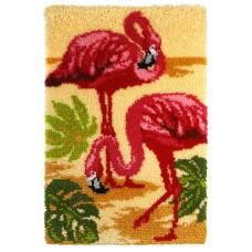 Orchidea Smyrna Rug Kit Flamingos Vloerkleed (WEB ONLY)
