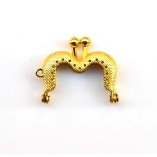 Portemonnee Beugel Gold 5 cm 99576-1G