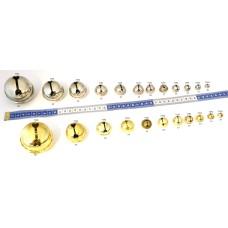 Belletjes 10 mm (Gold)
