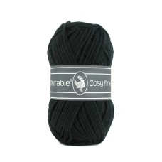 Durable Cosy Fine Black (325)