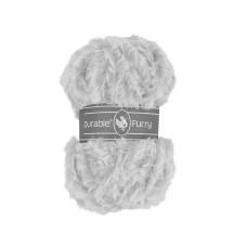 Durable Furry Silver Grey