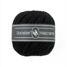 Durable Macrame Black