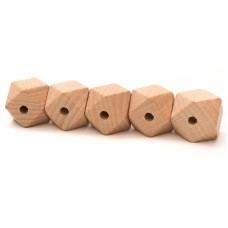 Hexagonkraal hout 20 mm