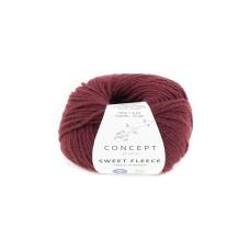 Katia Concept Sweet Fleece Burdeos (68)