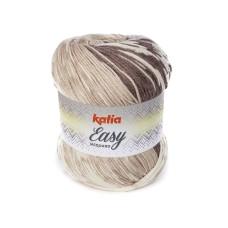 Katia Easy Jacquard Brown (302)