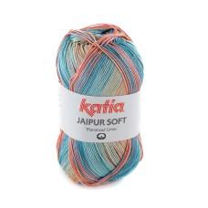 Katia Jaipur Soft Salmon Blue (104)