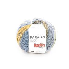Katia Paraiso Khaki Beige Blue (104)