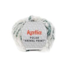 Katia Polar Animal Print Petrol (204)
