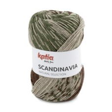 Katia Scandinavia Green Brown (203)