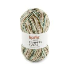 Katia Tampere Socks Fawn-Pale Red-Teal (100)