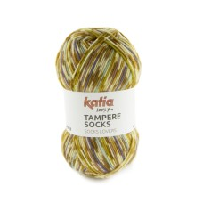 Katia Tampere Socks Camel-Pearl-Light Violet-Lilac (102)