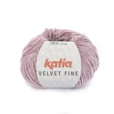 Katia Velvet Fine Pale Pink