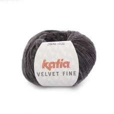 Katia Velvet Fine Metal Grey