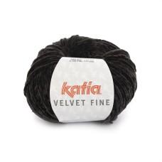 Katia Velvet Fine Black