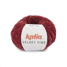 Katia Velvet Fine Scarlet