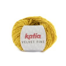 Katia Velvet Fine Mustard (221)