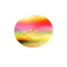 Button Pearl Rainbow 2 cm