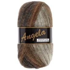 Lammy Yarns Angela Multi  Chocolate (404)