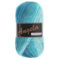 Lammy Yarns Angela Multi Turquoise (411)