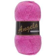 Lammy Yarns Angela Uni Hot Pink (020)