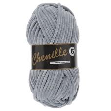 Lammy Yarns Chenille 6 Grey (003)