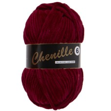 Lammy Yarns Chenille 6 Bordeaux (042)