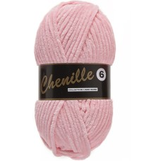 Lammy Yarns Chenille 6 Icy Pink (712)