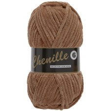 Lammy Yarns Chenille 6 Brown (792)