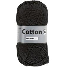 Lammy Yarns Cotton 8-4 Black (001)
