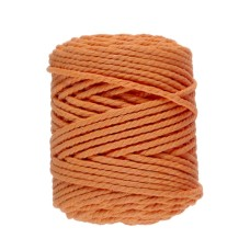 Lammy Yarns Macrame 10 (5mm) Orange Juice (041)