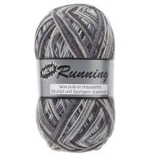 Lammy Yarns New Running Multi 100g Stone (304)