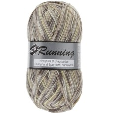 Lammy Yarns New Running Multi 100g Taupe (318)
