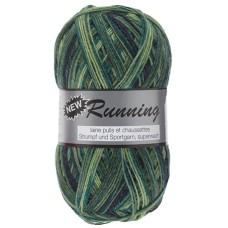 Lammy Yarns New Running Multi 100g Green (320)