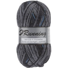 Lammy Yarns New Running Multi 100g Charcoal Blue (324)