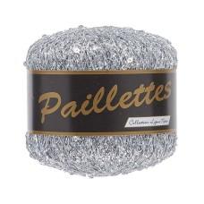 Lammy Yarns Paillettes Silver (401)