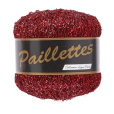 Lammy Yarns Paillettes Hot Red (409)