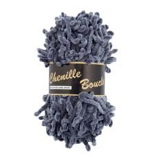 Lammy Yarns Chenille Boucle Grey (038)