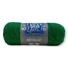 I Love This Yarn Metallic Jeallybean (744)