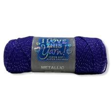I Love This Yarn Metallic Grapette (746)