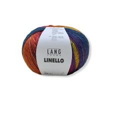 Lang Yarns Linello Dark Rainbow (0053)