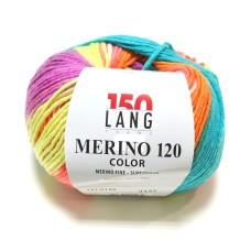 Lang Yarns Merino 120 Color Carnaval (151.0150)