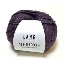 Lang Yarns Merino+ Aubergine (152.0380)