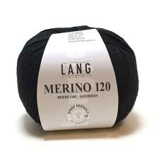 Lang Yarns Merino 120 Black (34.0004)