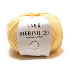 Lang Yarns Merino 120 Candle Light (34.0049)