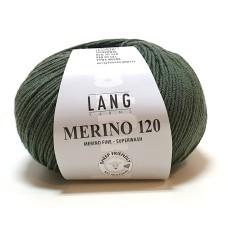 Lang Yarns Merino 120 Army (34.0098)