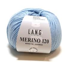 Lang Yarns Merino 120 Bluebell (34.0173)
