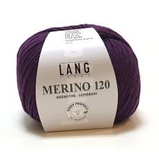 Lang Yarns Merino 120 Aubergine (34.0180)