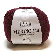 Lang Yarns Merino 120 Bordeaux (34.0364)
