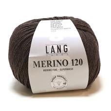 Lang Yarns Merino 120 Brown (34.0368)