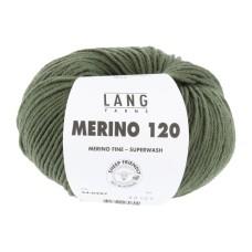 Lang Yarns Merino 120 Moss (34.0397)